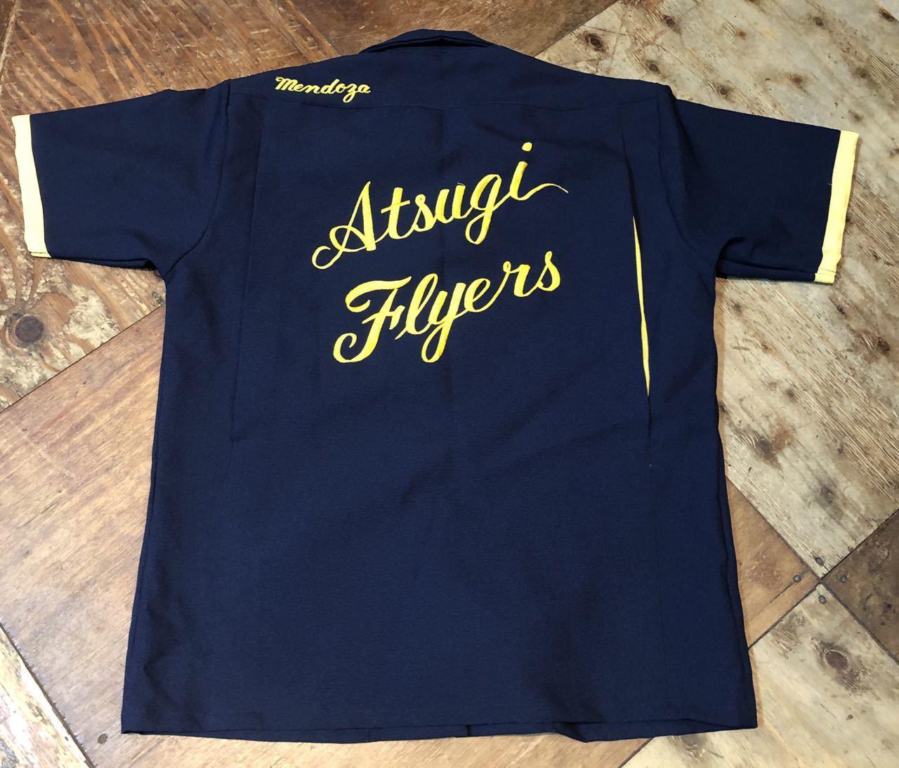 6月26日(土)入荷!60s HAMAYA U.S NAVY  Atsugi Flyers スーベニア ボーリングシャツ!_c0144020_16155266.jpg