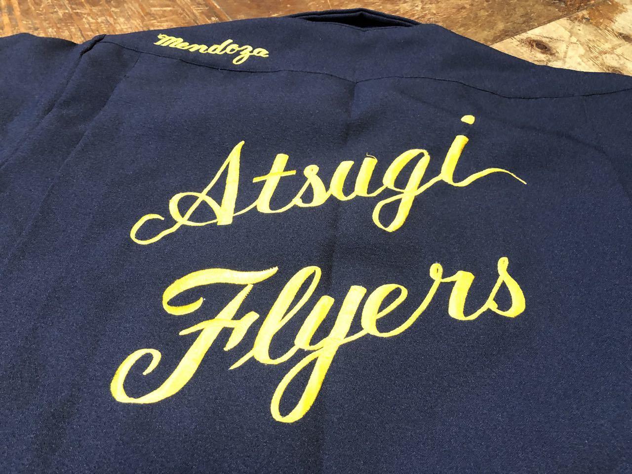 6月26日(土)入荷!60s HAMAYA U.S NAVY  Atsugi Flyers スーベニア ボーリングシャツ!_c0144020_16155872.jpg