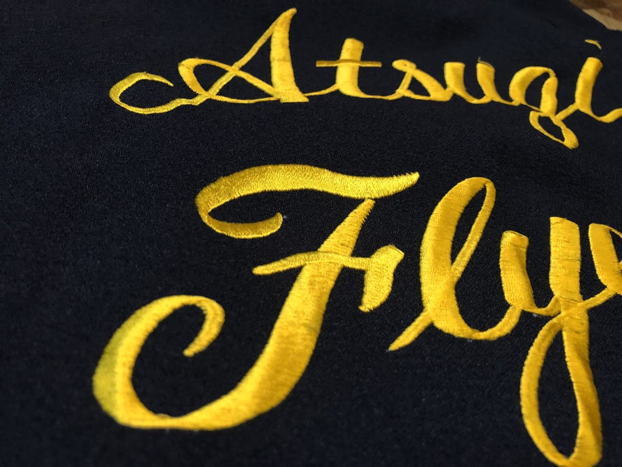 6月26日(土)入荷!60s HAMAYA U.S NAVY  Atsugi Flyers スーベニア ボーリングシャツ!_c0144020_16160073.jpg