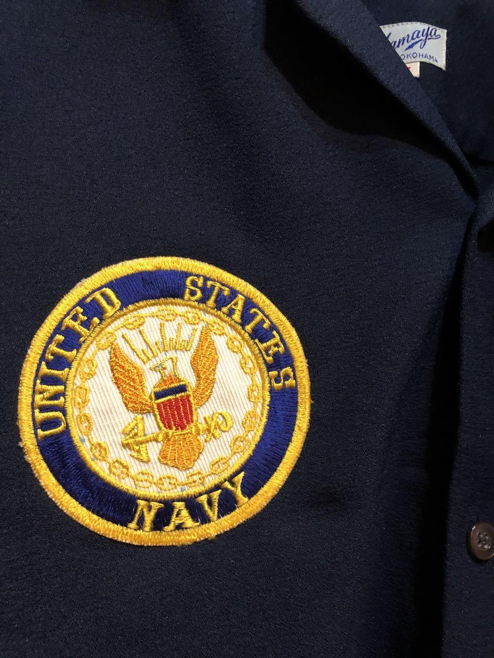 6月26日(土)入荷!60s HAMAYA U.S NAVY  Atsugi Flyers スーベニア ボーリングシャツ!_c0144020_16161370.jpg