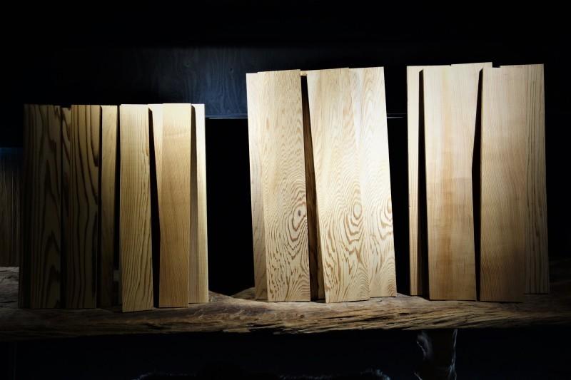 天杉 短尺杢板_e0156341_07220949.jpg