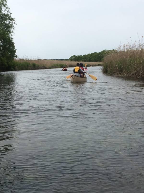 美々川をカヌーでのんびり下ってきました!_d0198793_01380757.jpg
