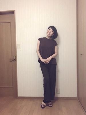 GUのブラウンコーデでオトナの女性を装う♡_f0249610_09103560.jpg