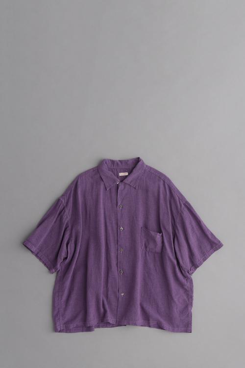 KAPITAL ソフトリネン 開襟BIGシャツ_d0120442_11415459.jpg