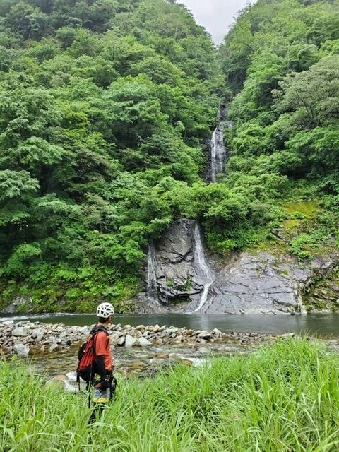 七反滝 沢登り_c0192058_22433971.jpeg
