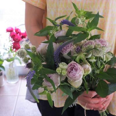 オークリーフ花の教室(大野さんと藤澤さんの作品)_f0049672_19202091.jpg