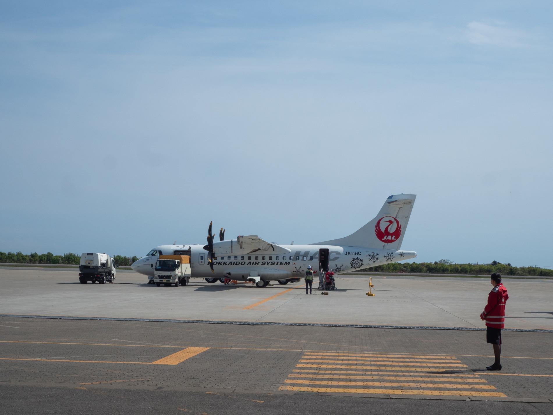 北海道エアシステムの新機材ATR42に乗って・・函館へ(1)_f0276498_13072930.jpg