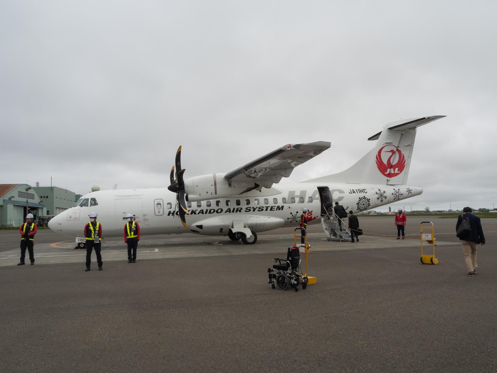 北海道エアシステムの新機材ATR42に乗って・・函館へ(1)_f0276498_13115508.jpg