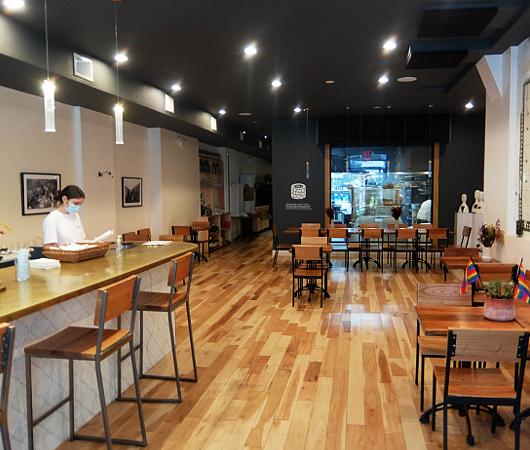 フェーズ2のNY、コロナ対策万全のレストラン(Chama Mama)でお食事へ_b0007805_02463350.jpg