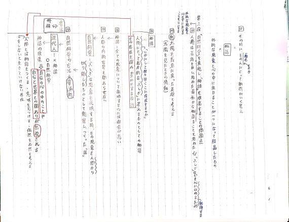 「『ふしぎ』ということ」生徒ノート_f0052907_16244040.jpg