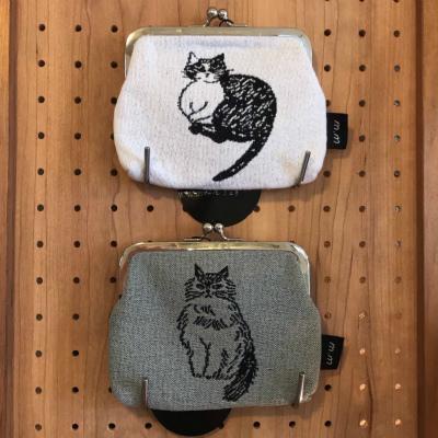 お買いモノ袋について・7月1日(水)からのランチプレート・猫のがま口・ガラスキャニスター_b0102217_16490184.jpg