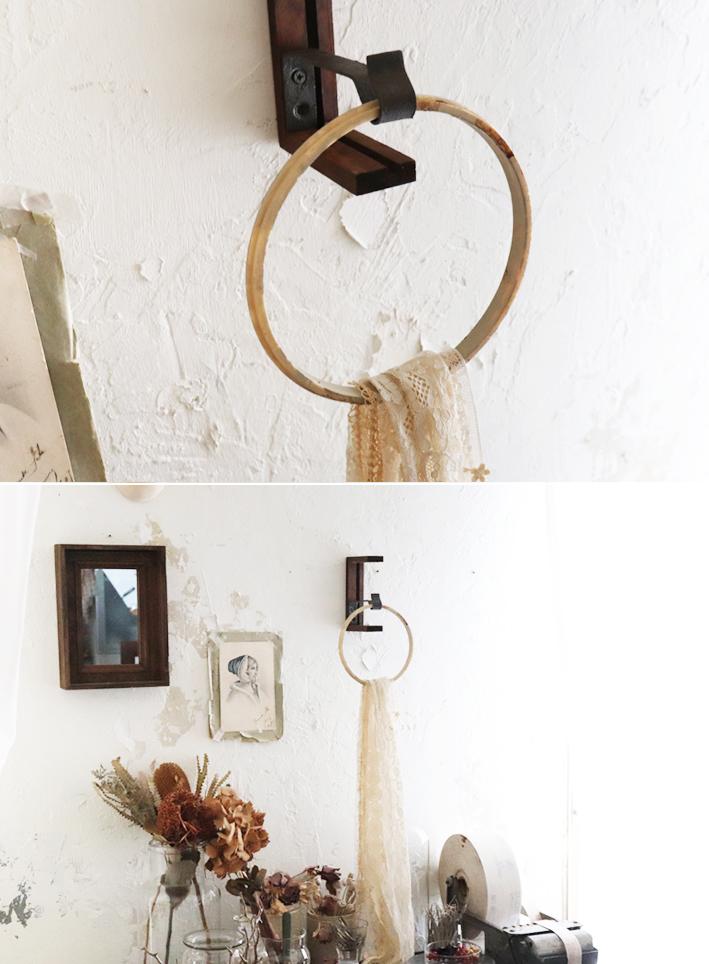 在り合わせで簡単DIY☆「アートな壁掛けフック」_d0351435_10280721.jpg