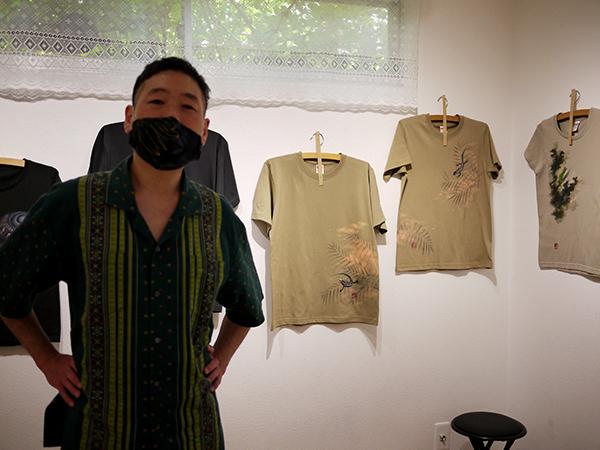 拈華微笑 参 Tei Kobashi Hand Drawn T-Shirts Exhibition。_e0158242_12432558.jpg