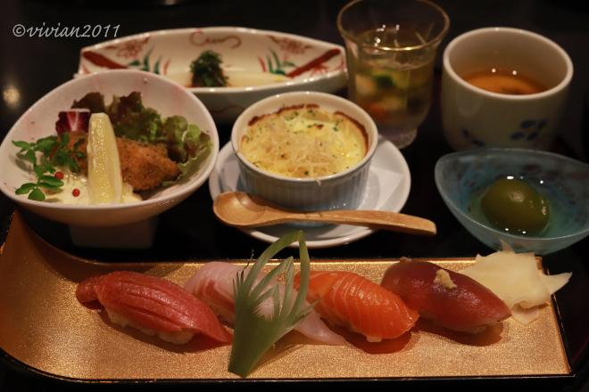 奴寿司 華月 ~お祝いの食事会~_e0227942_21081281.jpg