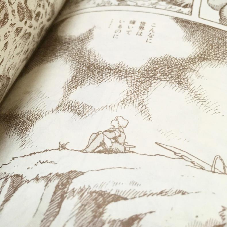 『風の谷のナウシカ』コミック版を久しぶりにまた読みました_c0060143_00424272.jpg