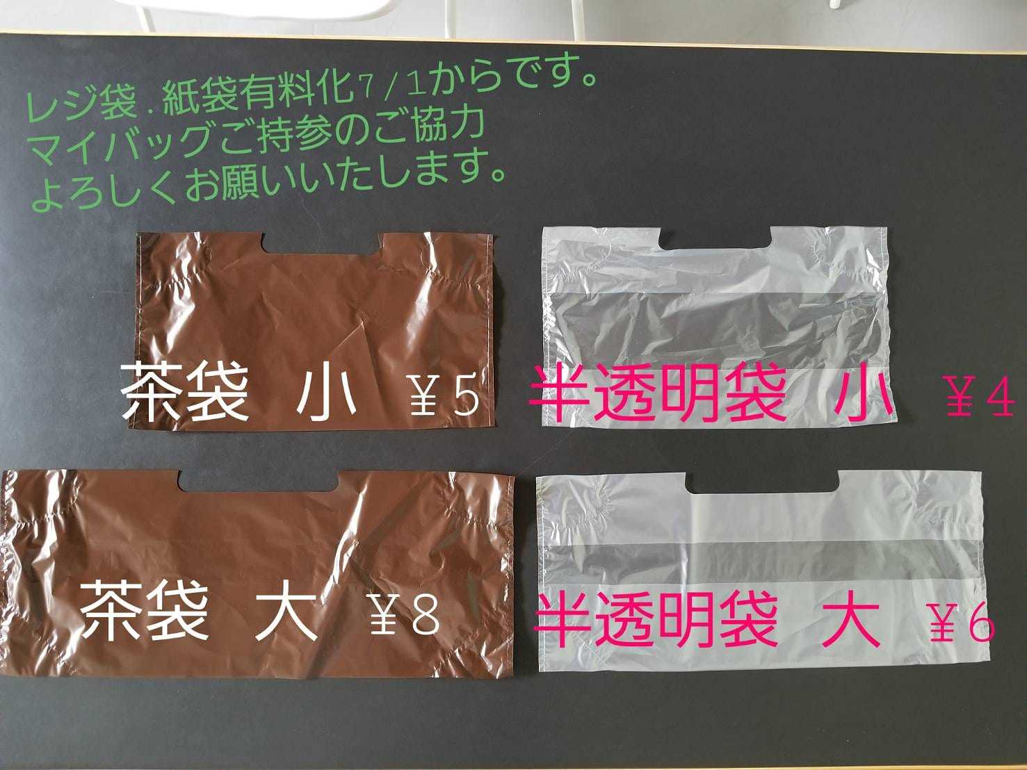 《レジ袋・紙袋有料化..._a0121154_16093134.jpg