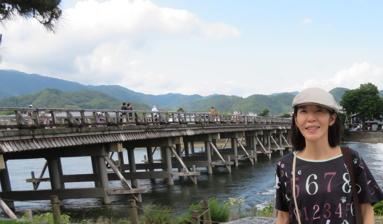 再び嵐山へ行きました、今回の目的は天龍寺_f0129557_20214738.jpeg