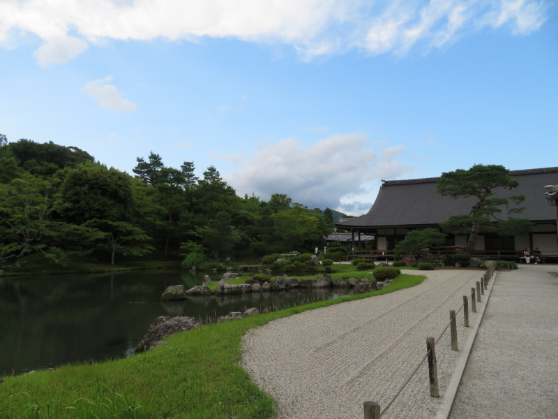 再び嵐山へ行きました、今回の目的は天龍寺_f0129557_20271522.jpeg