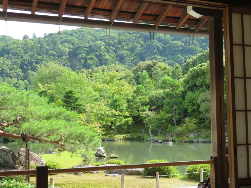 再び嵐山へ行きました、今回の目的は天龍寺_f0129557_20272246.jpeg