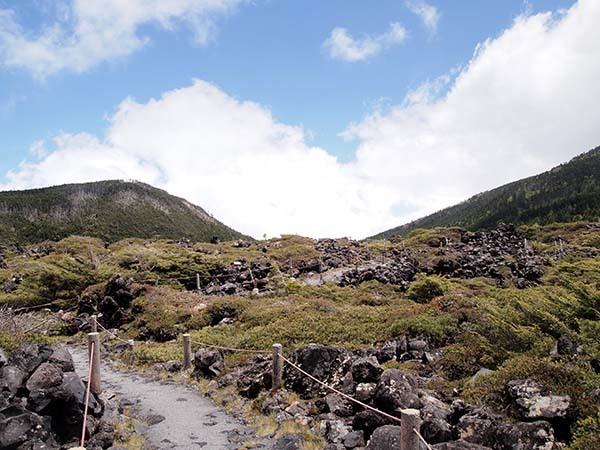 北横岳と縞枯山_c0011862_18375237.jpeg