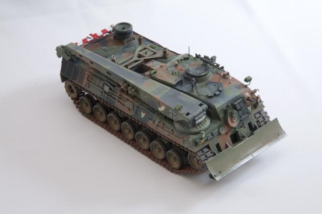 模型を作ろう! ドイツ装甲回収車 Bergepanzer2(MENG)編 その4 ...