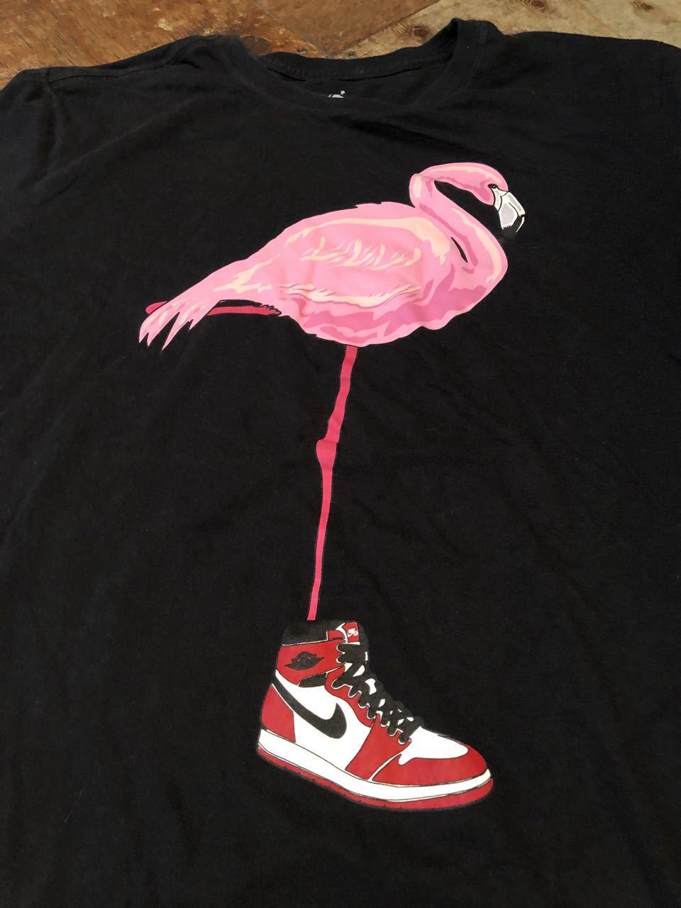 6月29日(月)入荷!NIKE JORDAN 1 ピンク フラミンゴ Tシャツ!_c0144020_13103611.jpg