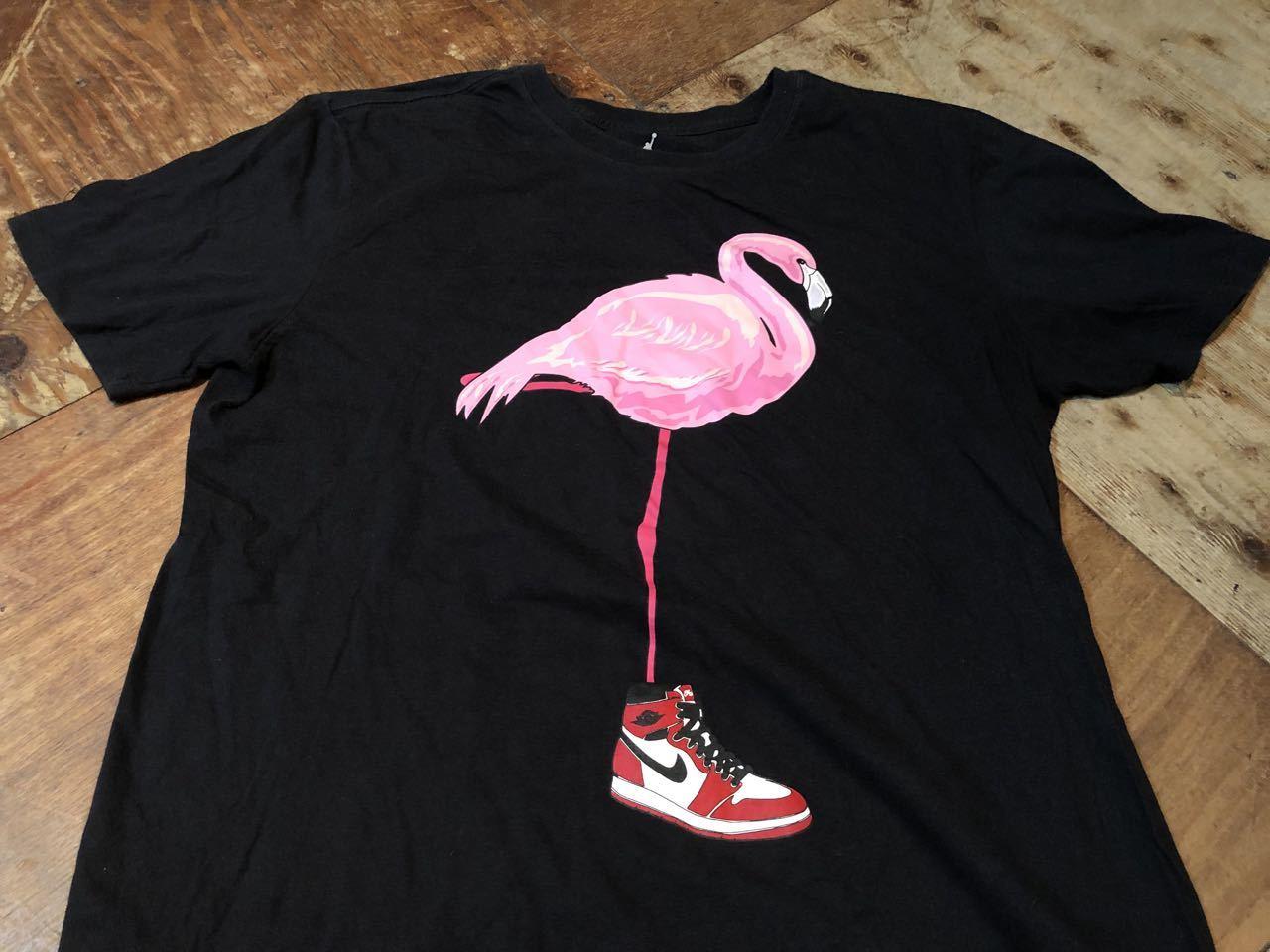 6月29日(月)入荷!NIKE JORDAN 1 ピンク フラミンゴ Tシャツ!_c0144020_13104011.jpg