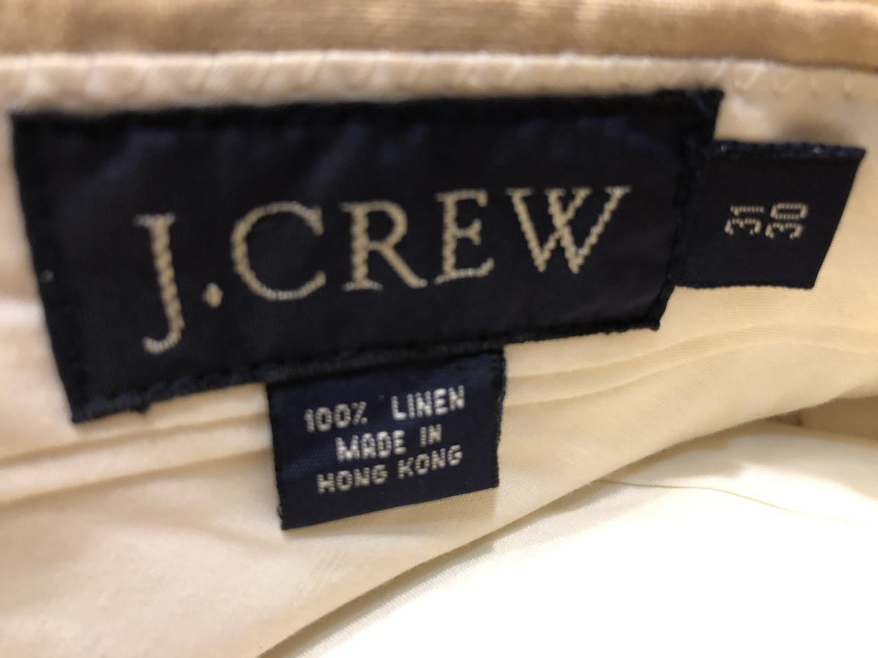 6月29日(月)入荷! J. Crew リネン パンツ!_c0144020_15480296.jpg