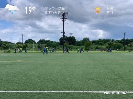 2020/6/28 サッカー試合_f0116421_22584333.jpeg
