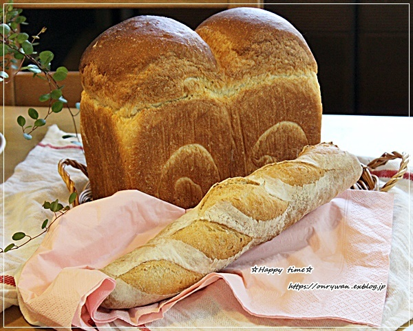 のっけたもん勝ち弁当とおnewのオーブンでパン焼き♪_f0348032_16384790.jpg