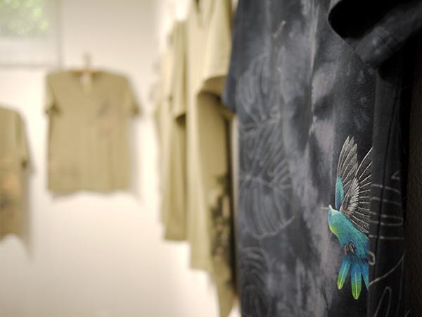 拈華微笑 参 Tei Kobashi Hand Drawn T-Shirts Exhibition。_e0158242_12200881.jpg