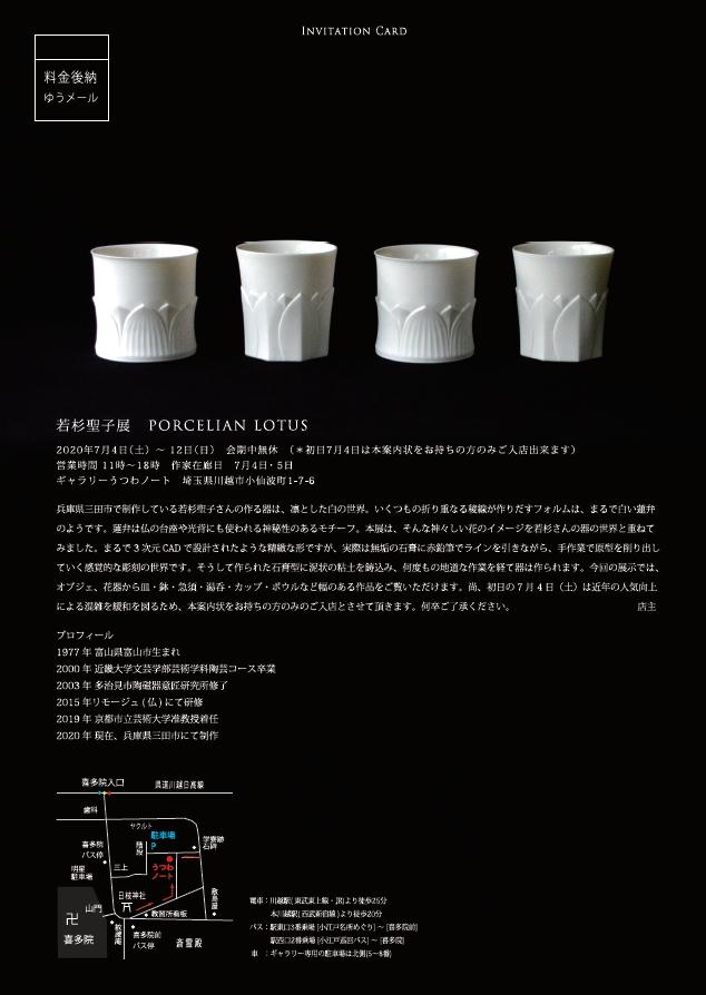 「若杉聖子展 PORCELIAN LOTUS」3日目_d0087761_1218138.jpg