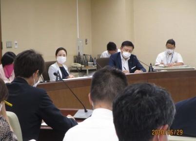 環境農林委員会 農林部の指定管理施設に一言 R2年6月29日_d0084783_16023110.jpg