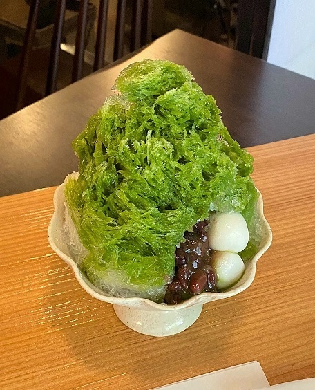 2020新作かき氷新茶氷・玄米茶氷登場_c0335087_17324754.jpg
