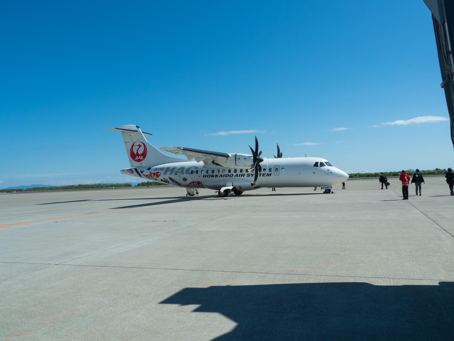 北海道エアシステムの新機材ATR42に乗って・・函館へ(3)_f0276498_22051669.jpg