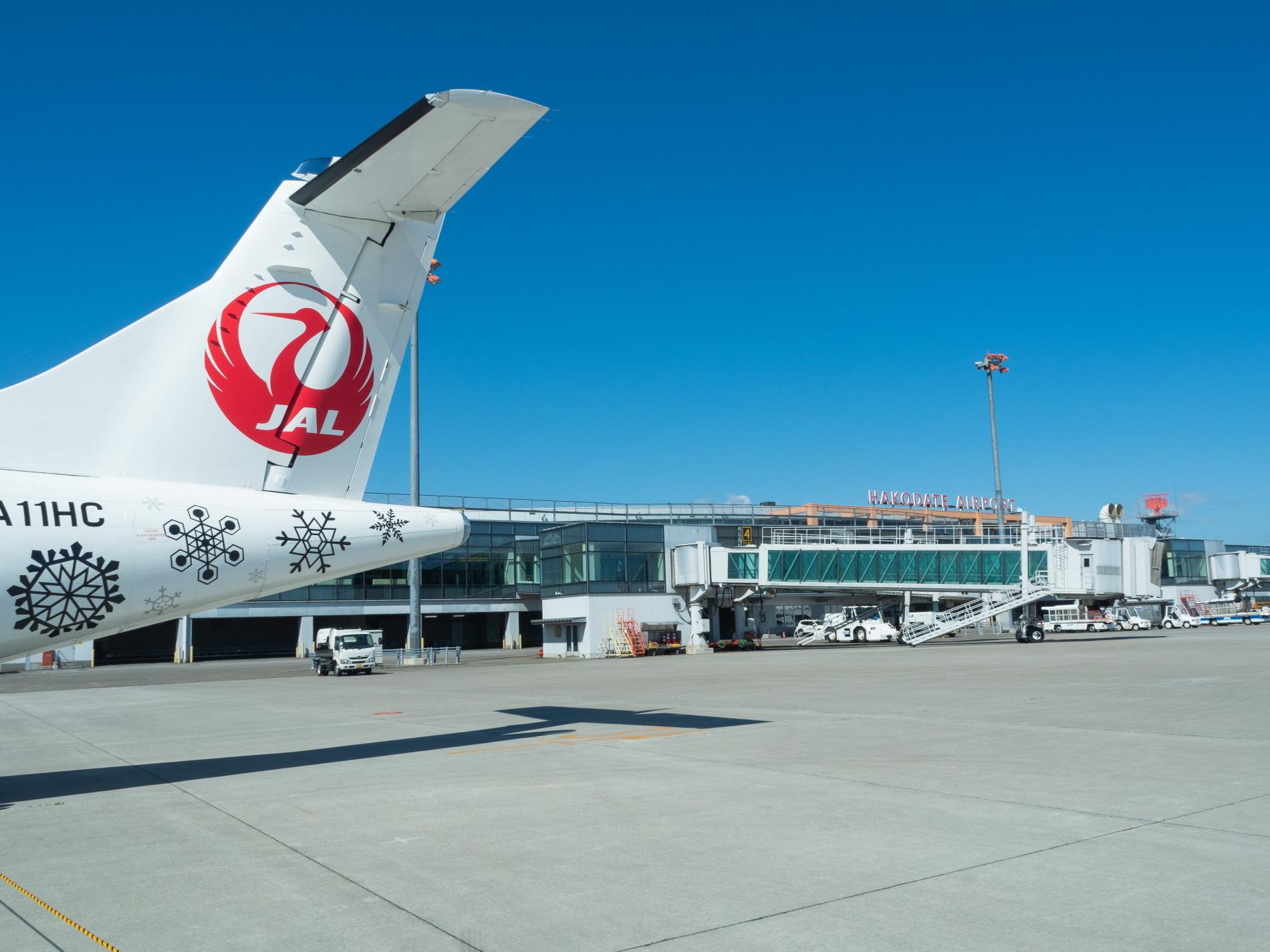 北海道エアシステムの新機材ATR42に乗って・・函館へ(3)_f0276498_22053231.jpg