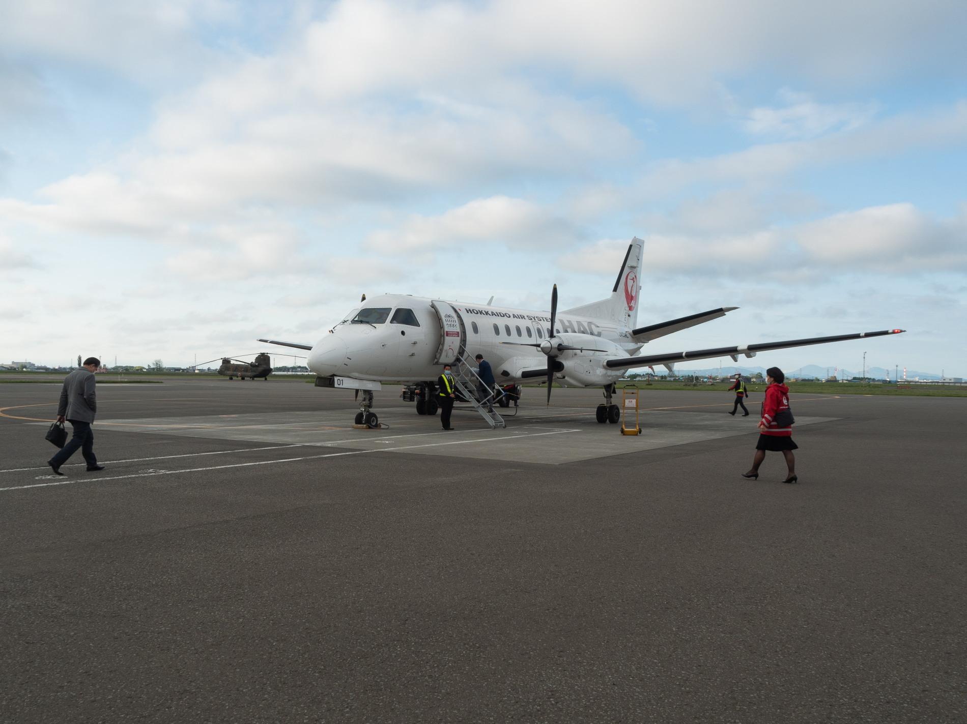 北海道エアシステムの新機材ATR42に乗って・・函館へ(3)_f0276498_22070613.jpg