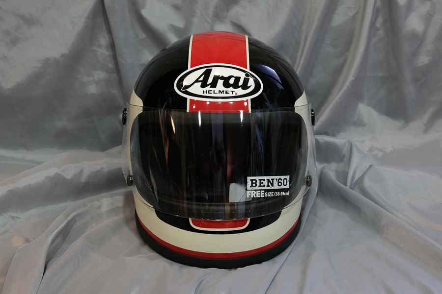 """レトロタイプヘルメット BEN-60 \""""Kitano\""""レプリカ_f0369107_09205540.jpg"""
