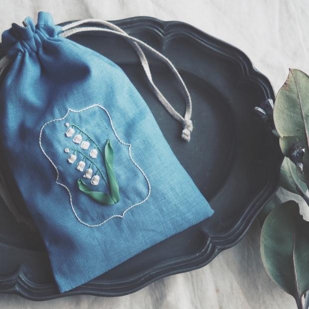 リボン刺繍ワークショップ「スズランの巾着袋」開催のお知らせ_d0023111_13421772.jpeg