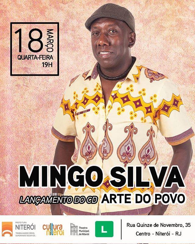【本場RIOの本物のSambistaの作品に参加♬】 #MingoSilva ミンゴ・シウヴァ Samba do Trabalhadorメンバー/ブラジル音楽大賞受賞者_b0032617_21484508.jpg