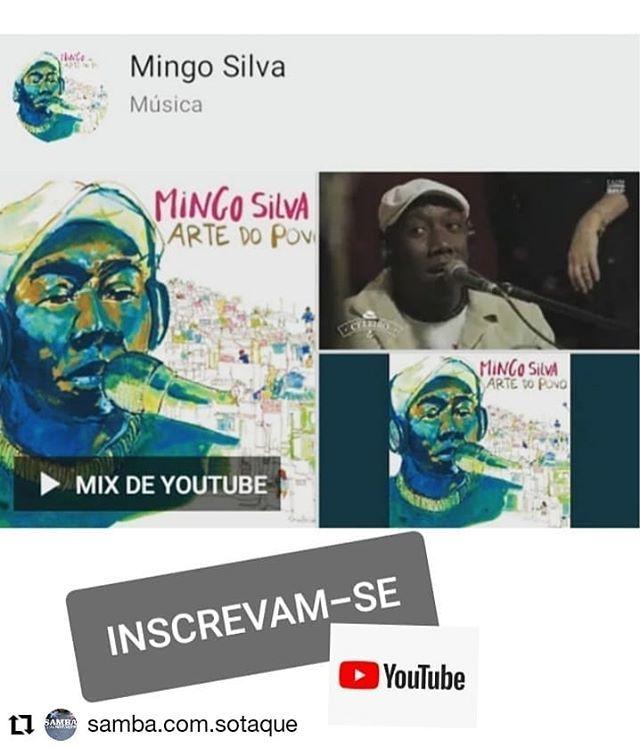 【本場RIOの本物のSambistaの作品に参加♬】 #MingoSilva ミンゴ・シウヴァ Samba do Trabalhadorメンバー/ブラジル音楽大賞受賞者_b0032617_21485649.jpg