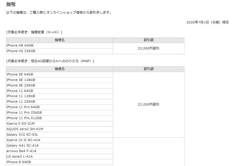 格安だったドコモiPad mini5端末購入割引終了 通常価格に戻る_d0262326_18552370.png