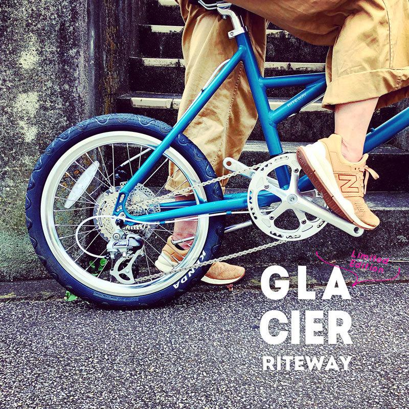 限定色RITEWAY 『新色グレイシア 』GLACIER シェファード グレイシア ライトウェイ パスチャー スタイルズ シェファードシティ クロスバイク 自転車女子 自転車ガール おしゃれ自転車_b0212032_14051038.jpeg