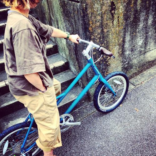 限定色RITEWAY 『新色グレイシア 』GLACIER シェファード グレイシア ライトウェイ パスチャー スタイルズ シェファードシティ クロスバイク 自転車女子 自転車ガール おしゃれ自転車_b0212032_14085565.jpeg