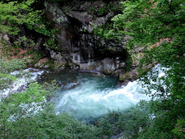名勝 吾妻峡 * 梅雨の晴れ間、緑の渓谷に涼む♪_f0236260_21001935.jpg