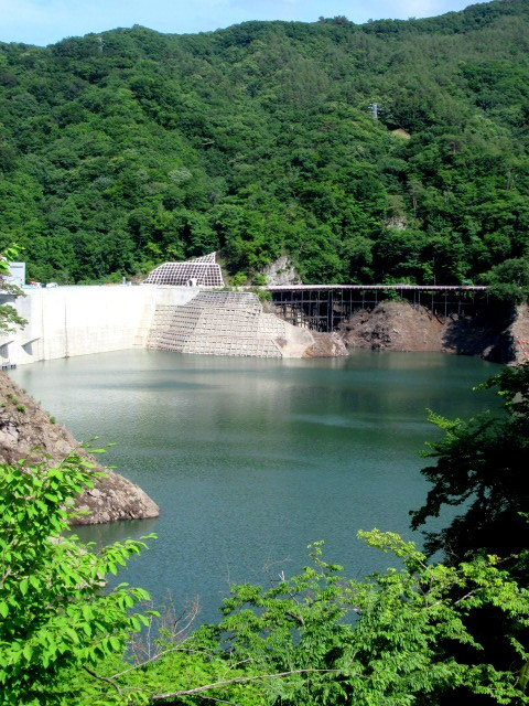 名勝 吾妻峡 * 梅雨の晴れ間、緑の渓谷に涼む♪_f0236260_21044279.jpg