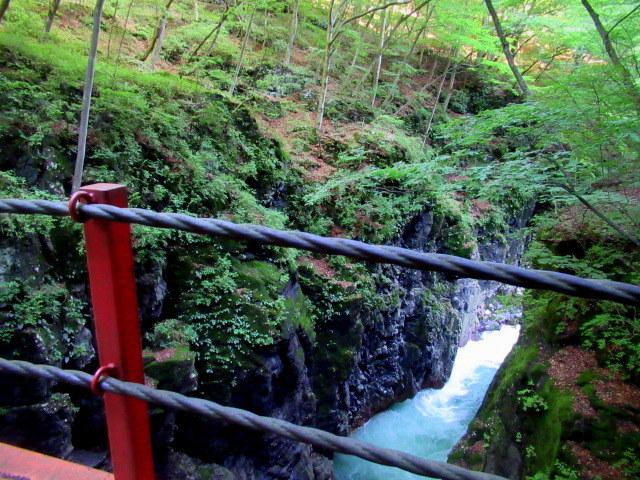 名勝 吾妻峡 * 梅雨の晴れ間、緑の渓谷に涼む♪_f0236260_21225770.jpg