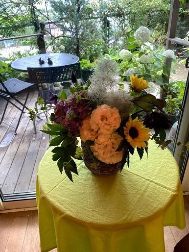 今月のお花のお教室_b0016668_22451934.jpg