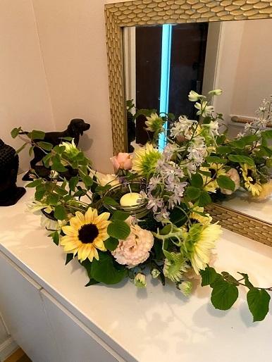 今月のお花のお教室_b0016668_22465798.jpg