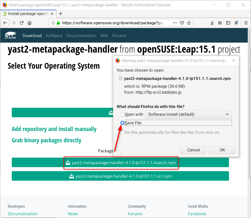openSUSE Leap and SUSE Linux Enterprise 15 sp2 初めてのDocker_a0056607_10572921.png